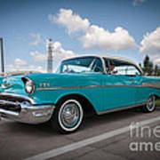 conrictrice 56 Chevy Poster