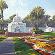 Conservatory Of Flowers - Golden Gate Park Poster
