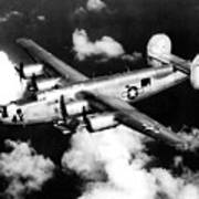 Consolidated B-24 Liberator Heavy Bomber Poster