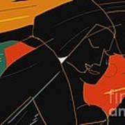 Consoling Poster by Vilas Malankar