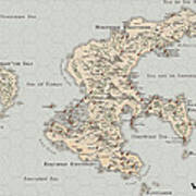 Continent Of Verme Poster
