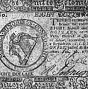 Continental Currency, 1777 Poster