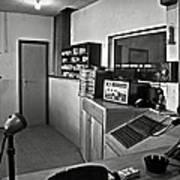 Control Room In Alcatraz Prison Poster