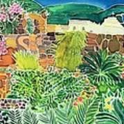 Convent Gardens Antigua Poster