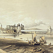 Conway Bridge, Construction Of Second Poster