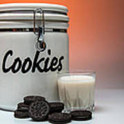 Cookies And Milk Poster
