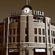 Coors Field - Colorado Rockies 20 Poster