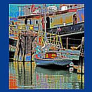 Coos Bay At Berth Poster