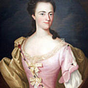 Copley's Jane Browne -- Mrs. Samuel Livermore Poster