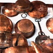 Copper - Featured In Inanimate Objects Group Poster