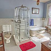 Copper King Victorian Bathroom - Butte Montana Poster