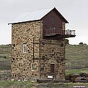 Copper Mine Enginehouse Poster