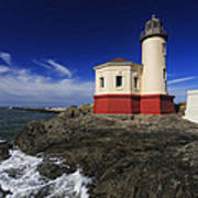 Coquille River Lighthouse 3 Poster