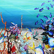 Coral Reef Blues  Poster