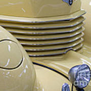 Cord 812 Oldtimer From 1937 Grill Poster