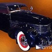 Cord Phaeton 1936 Poster