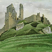 Corfe Castle Poster