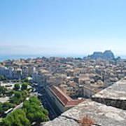 Corfu City Poster