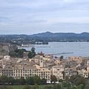 Corfu.new Port Poster
