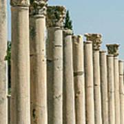 Corinthian Columns In Turkey Poster