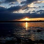 Cork Harbour Sunset Poster