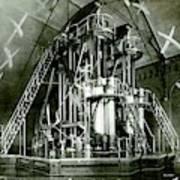 Corliss Exhibition Steam Engine Poster