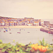Cornish Harbour Poster
