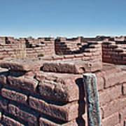 Coronado Monument Adobe Walls Poster