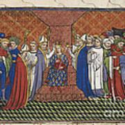 Coronation Of Charles Vi Poster