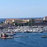 Corsican Marina Poster