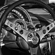 Corvette Cockpit Poster