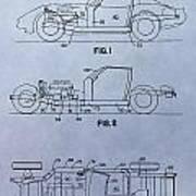 Corvette Patent Poster
