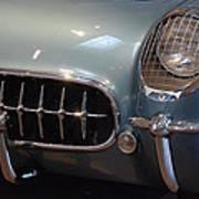 Corvette Roadster 1955 Poster