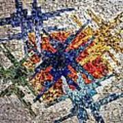 Cosmic Mosaic Poster
