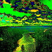 Cosmic River 2 Poster