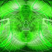 Cosmic Spiral Ascension 24 Poster