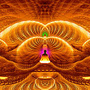 Cosmic Spiral Ascension 33 Poster