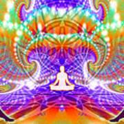 Cosmic Spiral Ascension 60 Poster