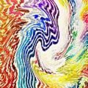 Cosmic Waves Vertical Poster