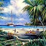 Costa Rica Sailing Poster