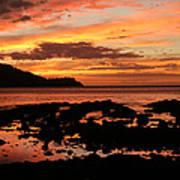 Costa Rica Sunset Poster
