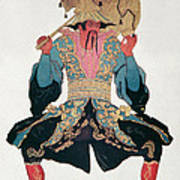 Costume Design For A Chinaman Poster