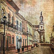Cotacachi Morning Poster