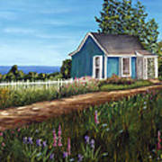 Cottage By The Sea Poster