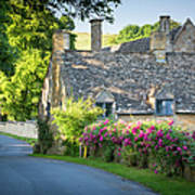 Cottage In The Cotswolds Poster