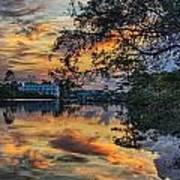 Cotton Bayou Sunrise Poster