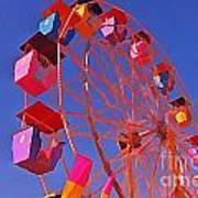Cotton Candy Ferris Wheel Poster