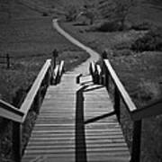 Coulee Stairs Poster