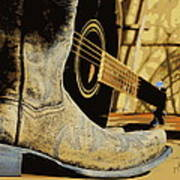 Country Blues Poster