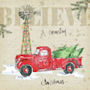 Country Christmas Iv Poster